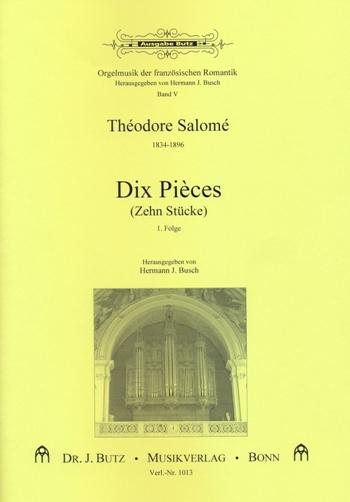 10 pièces: pour orgue