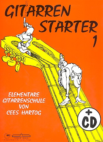 Hartog, Cees - Gitarrenstarter Band 1 (+CD) :