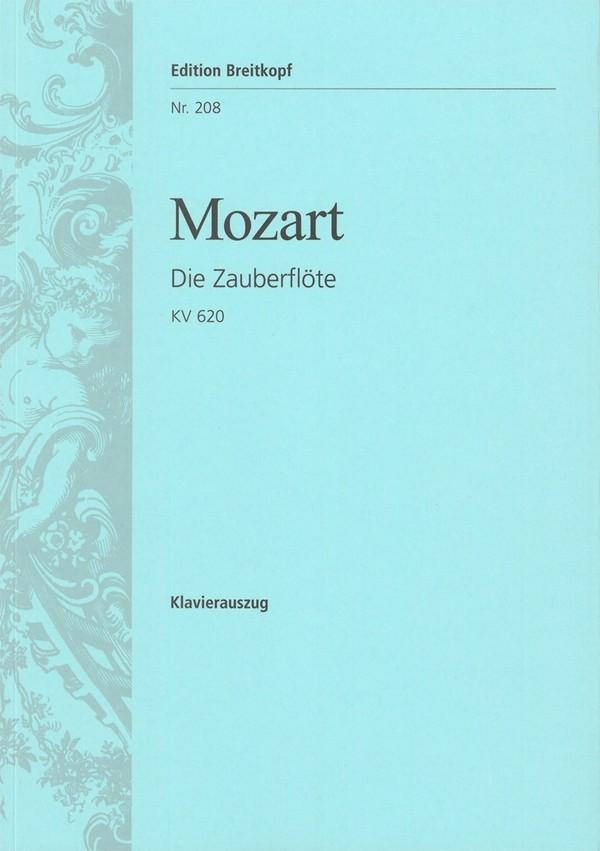Die Zauberflöte KV620: Klavierauszug
