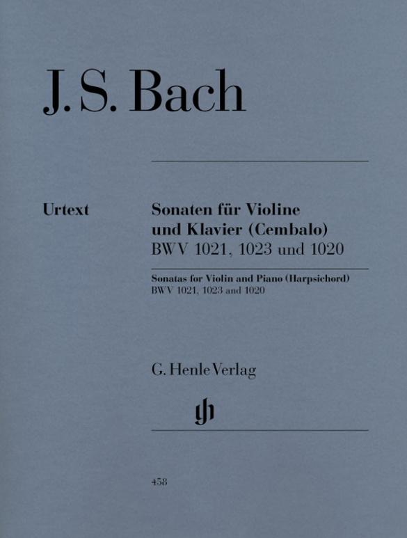 Bach, Johann Sebastian - Sonaten BWV1021, BWV1023 und