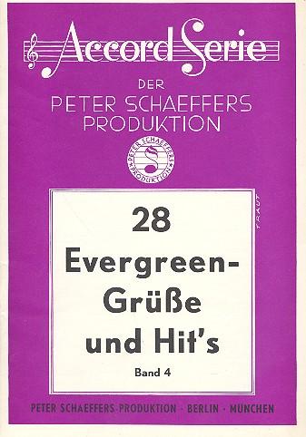 28 Evergreen-Grüße und Hits Band 4