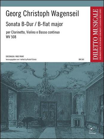 Wagenseil, Georg Christoph - Sonate B-Dur : für Klarinette,