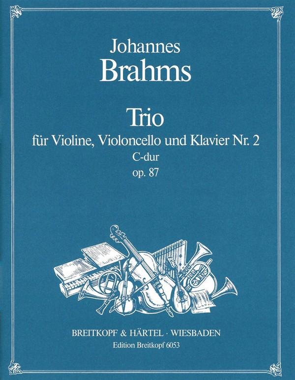 Klaviertrio C-Dur opus.87,2: Stimmen