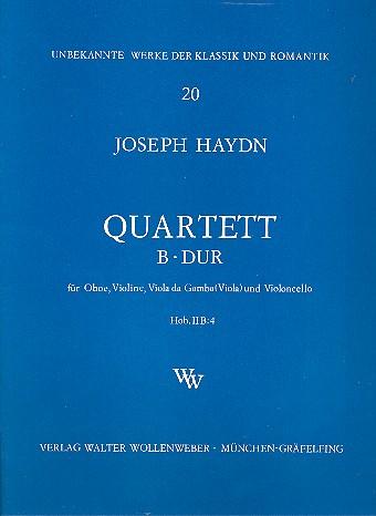 Haydn, Franz Joseph - Quartett B-Dur Hob.IIB:4 : für