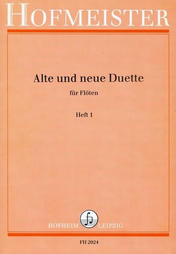 - Alte und neue Duette Band 1 : für Flöten