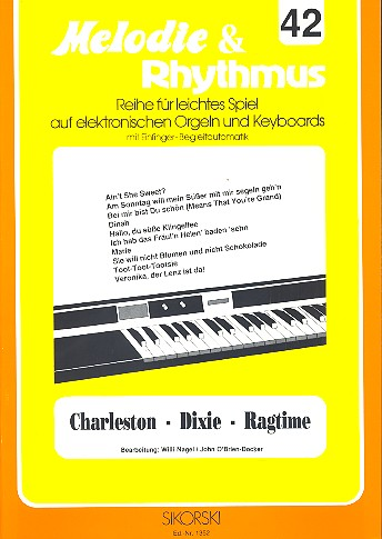 Charleston-Dixie-Ragtime: für E-Orgel / Keyboard