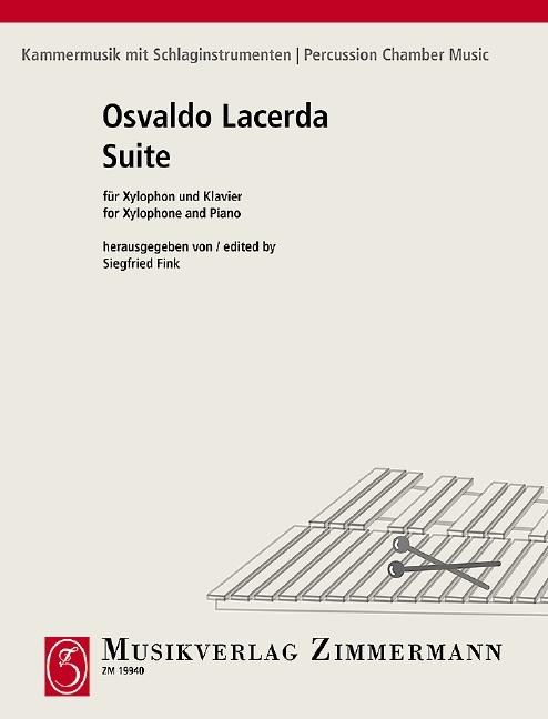 Suite: für Xylophon und Klavier
