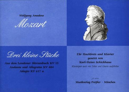 3 kleine Stücke: für Hackbrett und Klavier