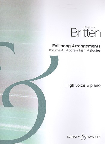 Folksong Arrangements vol.4 - British Isles: for high voice and piano