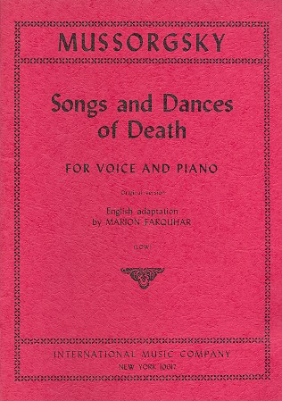 Mussorgski, Modest - Songs and Dances of Death :