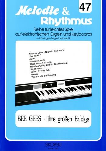Bee Gees - Ihre großen Erfolge: für E-Orgel / Keyboard