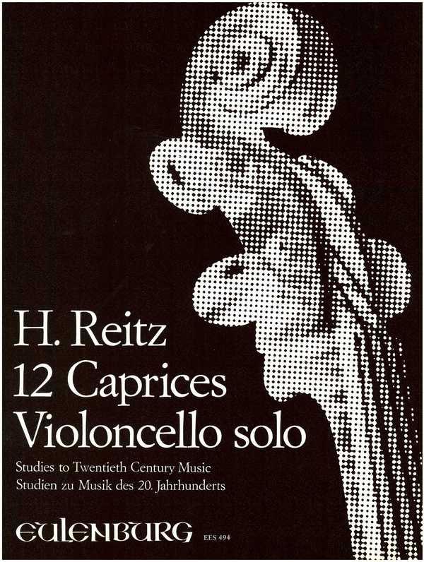 12 Caprices opus.5: für Violoncello solo