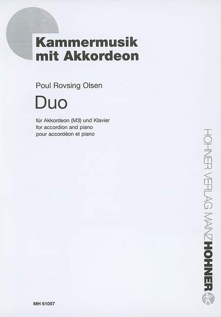 Duo opus.56: for accordion and piano
