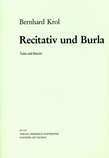 Krol, Bernhard - Rezitativ und Burla op.83,2 :