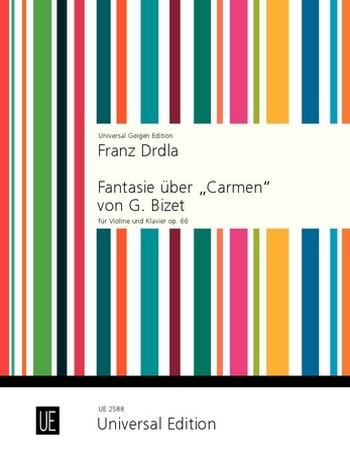 Drdla, Franz - Fantasie über Carmen op.66 :