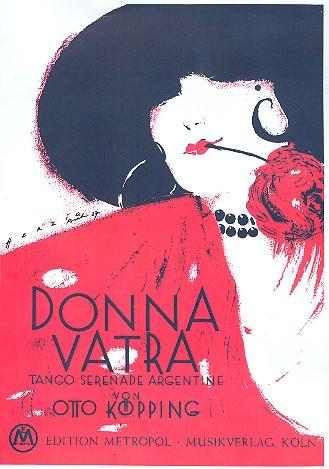 Donna vatra: Einzelausgabe für Klavier