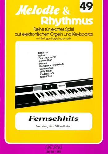 Fernsehhits: für E-Orgel / Keyboard