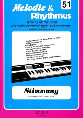 Stimmung: für E-Orgel / Keyboard