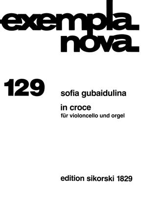 Gubaidulina, Sofia - In croce :