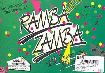 RAMBA ZAMBA BAND 3: FUER DIATONISCHE HANDHARMONIKA
