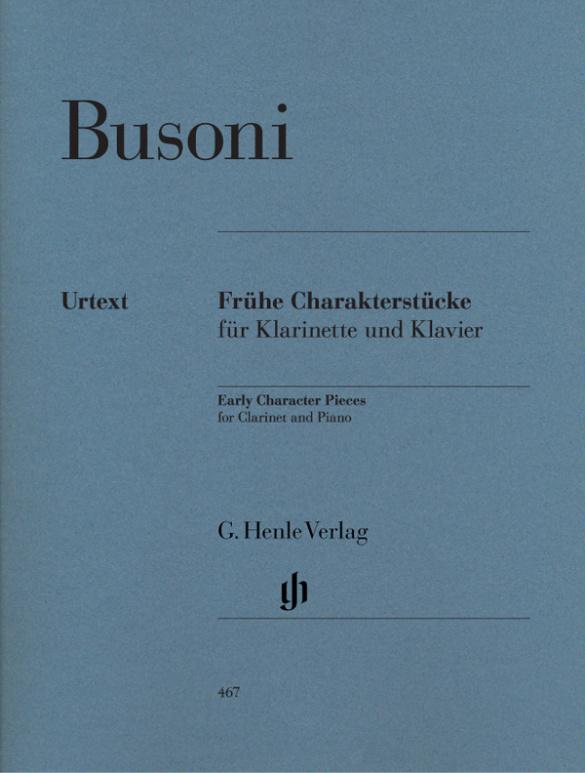 Busoni, Ferruccio - Frühe Charakterstücke :