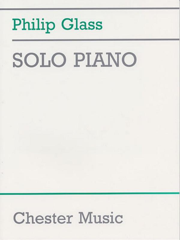Glass, Philip - Philip Glass Solo Piano Album