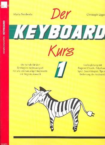 Swoboda, Maria - Der Keyboard Kurs Band 1