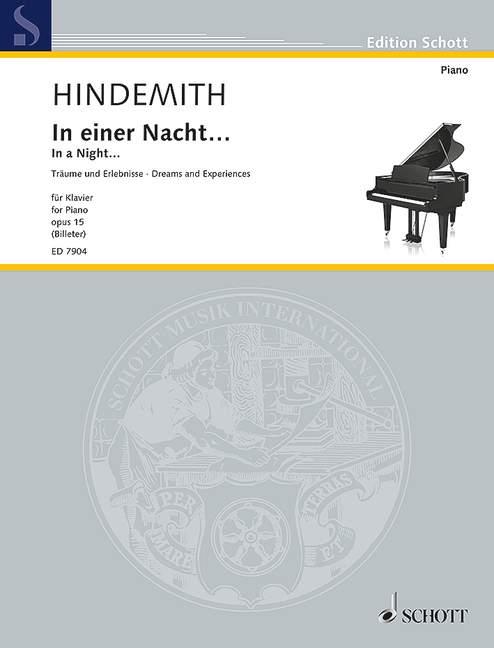 Hindemith, Paul - In einer Nacht op.15 :