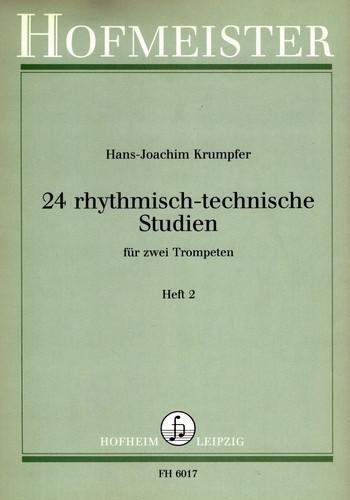 Krumpfer, Hans Joachim - 24 rhythmisch-technische Studien Band 2 :