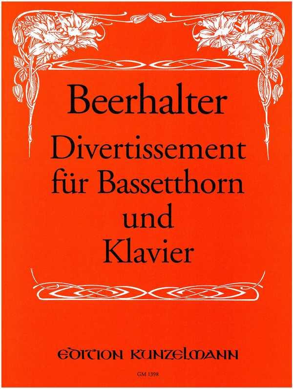 Divertissement: für Bassetthorn und Klavier
