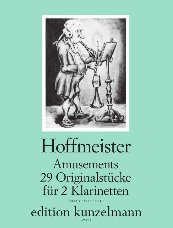 Hoffmeister, Franz Anton - Amusements : 29 Originalstücke