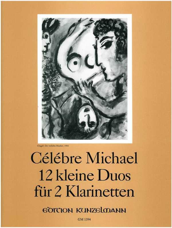 12 kleine Duos: für 2 Klarinetten