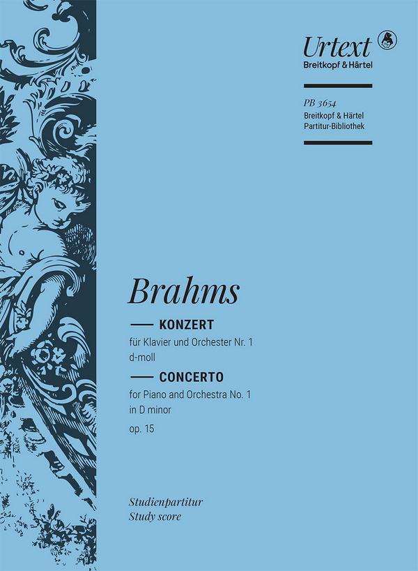 Brahms, Johannes - Konzert d-Moll Nr.1 op.15 :