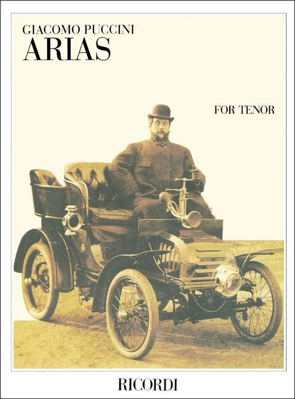 Puccini, Giacomo - Arias : for tenor