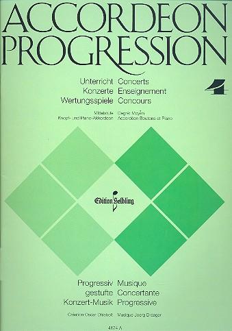Draeger, Jörg - Accordeon Progression Band 4 :