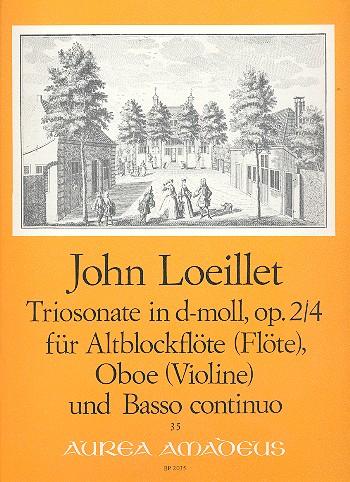 Loeillet, Jean Baptiste (John of London) - Triosonate d-Moll op.2,4 :