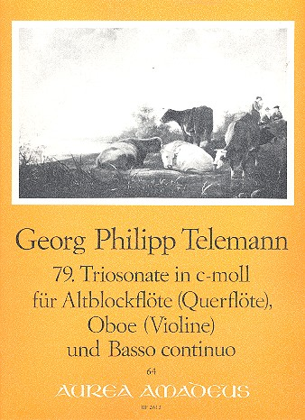 Telemann, Georg Philipp - Triosonate c-Moll Nr.79 :