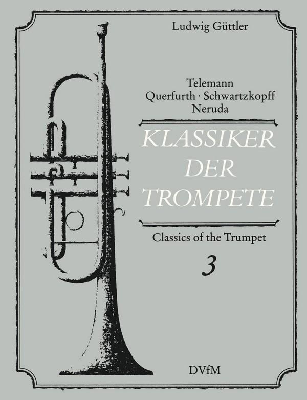 - Klassiker der Trompete Band 3 :