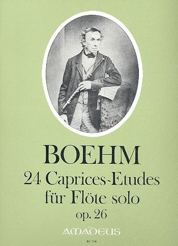 Boehm, Theobald - 24 caprices-etudes op.26 :