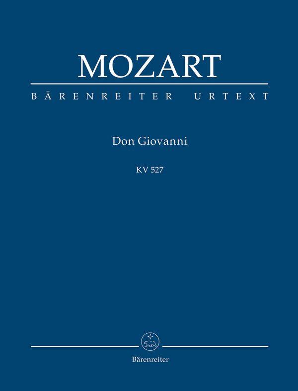 Don Giovanni KV257: Studienpartitur