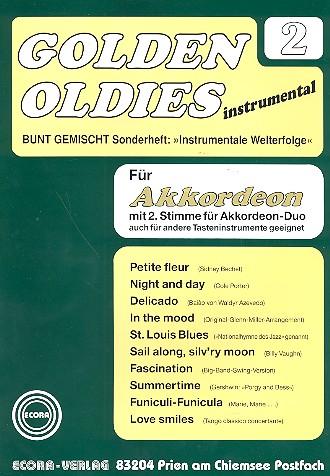 Golden Oldies Band 2: für Akkordeon solo, duo oder andere Tasteninstrumente
