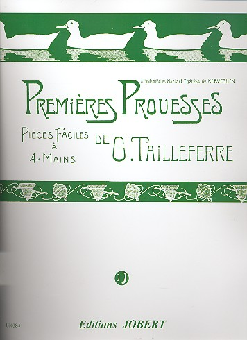Tailleferre, Germaine - Premieres prouesses :