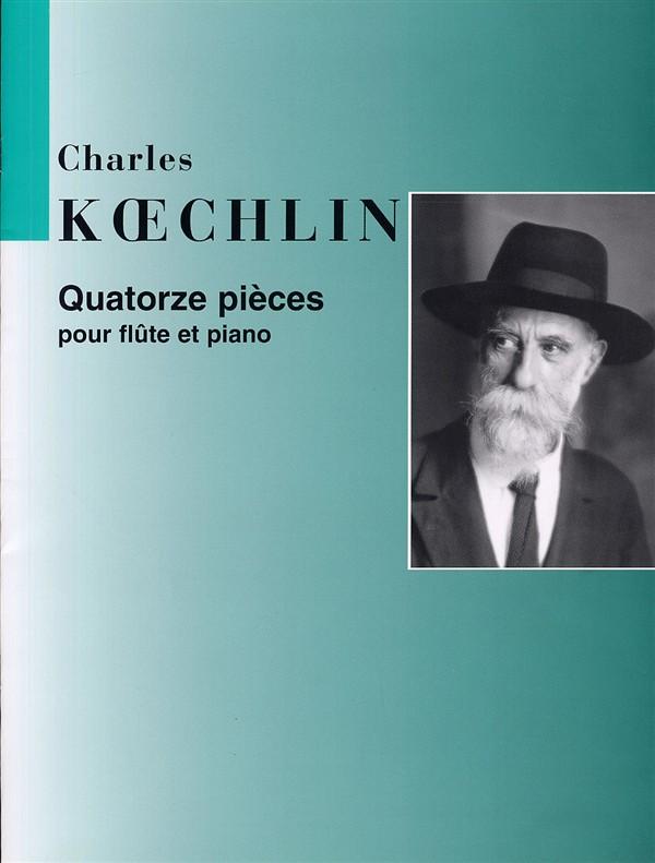Koechlin, Charles Louis Eugene - 14 pièces :