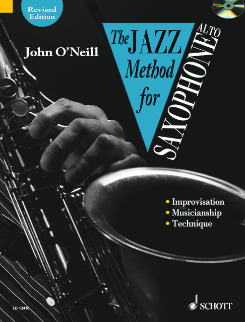 O'Neill, John - The Jazz Method for Saxophone (+CD) :