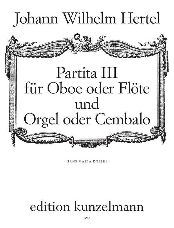 Partita 3: für Oboe (Flöte) und Orgel (Cembalo)