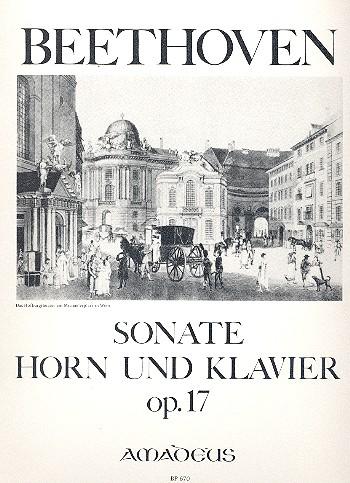Sonate F-Dur opus.17: für Horn und Klavier