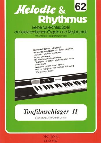 Tonfilmschlager 2: für E-Orgel/Keyboard