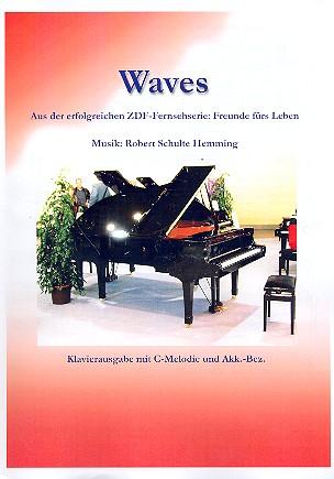 Waves: Einzelausgabe Melodie in C und Klavier