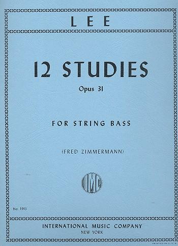 Lee, Sebastian - 12 Studies op.31 :