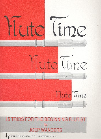 - Flute Time : 15 trios for the